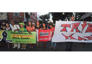 Sindipetro Bahia participa da Marcha da Consciência Negra