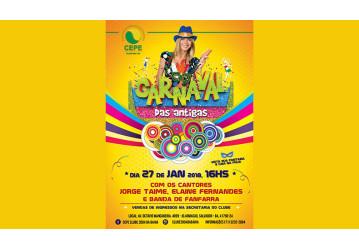 Clube 2004 promove Carnaval das Antigas