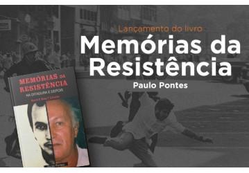 Professor e ex-preso político lança, no Sindipetro Bahia, livro de memória sobre a resistência na ditadura