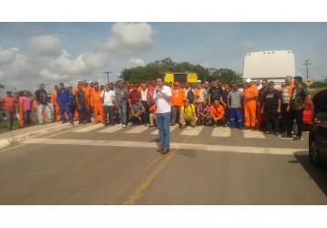 Petroleiros da Bahia participam do Dia de Luta contra a Reforma da Previdência