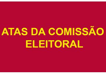 Atas das reuniões da Comissão Eleitoral