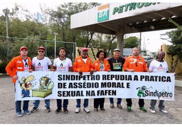 FAFEN – Sindipetro realiza ato contra assédio moral e sexual; confira o vídeo