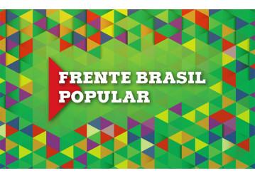 Frente Brasil Popular apresenta proposta para o país sair da crise política e econômica