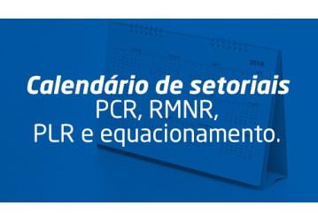 Setoriais na base esclarecem sobre PCR, RMNR, PLR e equacionamento