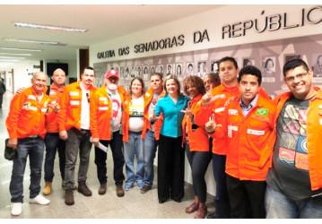 Brigada Petroleira volta a Brasília em defesa dos trabalhadores