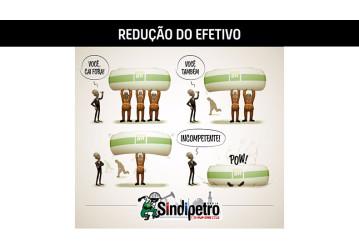 Redução do efetivo mínimo ameaça vida e saúde dos trabalhadores
