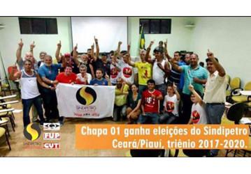Com apoio da FUP/CUT, Chapa 01 ganha eleição no Sindipetro CE/PI