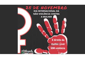 25/11 - Dia Internacional da Não-Violência contra a Mulher
