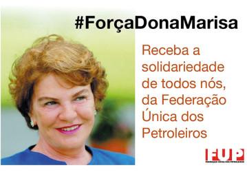 Dona Marisa Letícia está internada em estado grave em SP