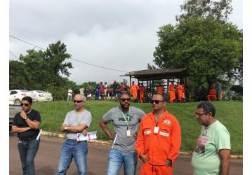 Ato em Miranga repudia privatizações e indicações de executivos de multinacionais para o CA da Petrobrás