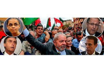 Datafolha: Lula lidera em todos os cenários em 2018