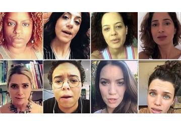 Em vídeos, mulheres convidam população para atos contra Bolsonaro no dia 29