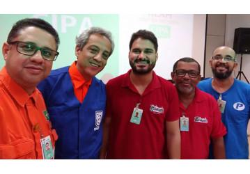 Sindipetro Bahia participa da posse da CIPA RLAM 2017/2018