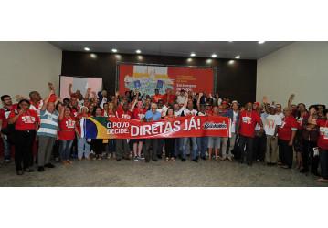 VI Congresso - Petroleiros da Bahia ressaltam orgulho de estarem do lado certo da história