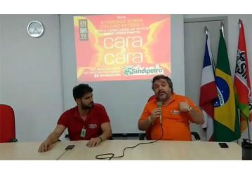Sindipetro Bahia - Cara a Cara especial sobre o PP-1 teve boa participação da categoria petroleira