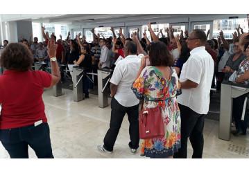 Na Bahia, 95% da categoria decide pela greve em caso de retirada de direitos