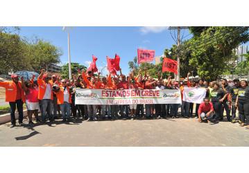Mais de 90% dos petroleiros da Bahia aderiram à greve geral, comemora Sindipetro; confira vídeo