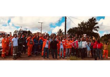Perbrás – Trabalhadores cruzam os braços por avanço nas negociações