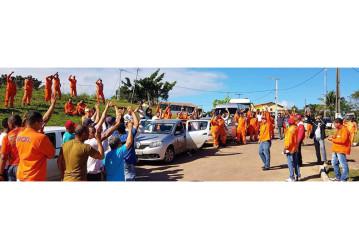 Trabalhadores reagem contra venda dos polos de Miranga e Buracica e aprovam paralisação