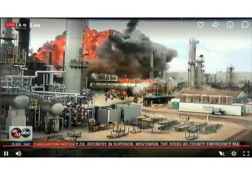 Explosão em refinaria nos EUA deve servir de alerta para a Petrobrás