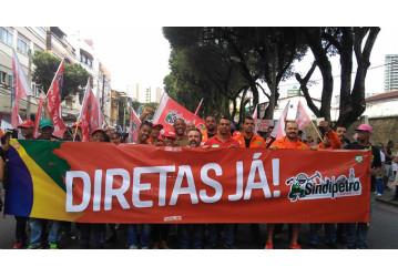 Passeata reúne milhares de pessoas em Salvador contra as reformas e exige DIRETAS JÁ; confira o vídeo
