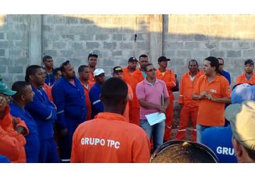 TPC – Sindipetro apoia mobilização dos trabalhadores