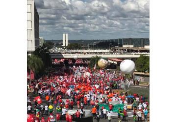 Sindipetro presta contas da contribuição para a campanha 'Ocupa Brasília'