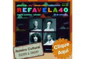Roteiro Cultural - 22 a 28 de setembro