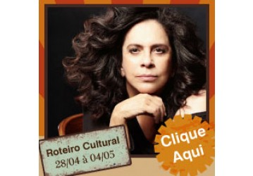 Roteiro cultural 28-04 a 04-05