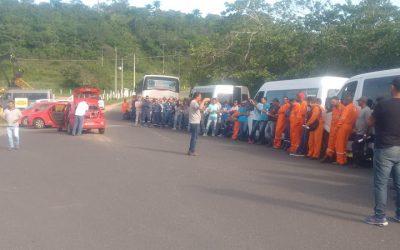 UO – BA – Nas duas ultimas semanas, trabalhadores de todas as bases realizaram protestos de cerca de três horas
