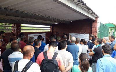 Sindipetro Bahia realiza setoriais na base; nesta sexta (17) o encontro foi na RLAM