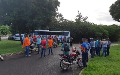 Trabalhadores da Varco paralisam atividades em protesto a demissão de colega e subnotificação de acidente