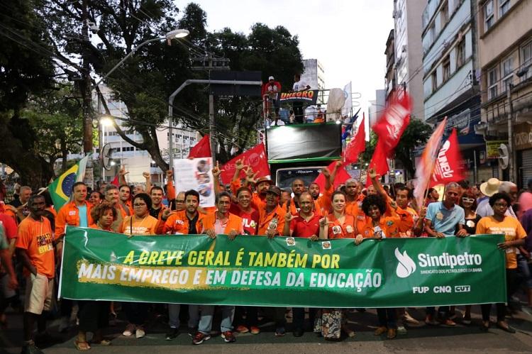 Festa da democracia: ruas dão o tom da resistência na greve geral de 14/06