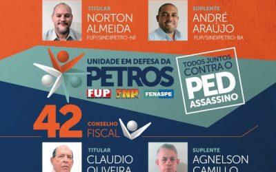 Conheça as propostas dos candidatos que a FUP apoia na eleição da Petros