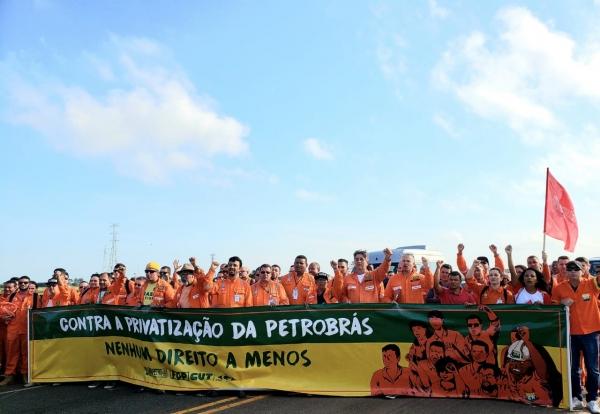 Terceiro dia de luta da FUP concentra mobilizações no E&P e termelétricas