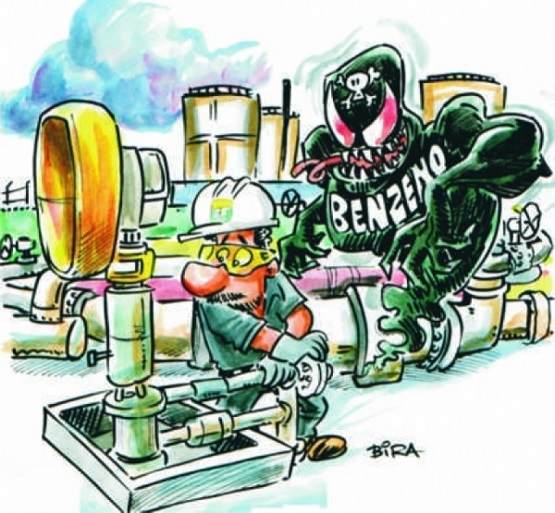 Luta contra exposição ao Benzeno mobiliza os petroleiros