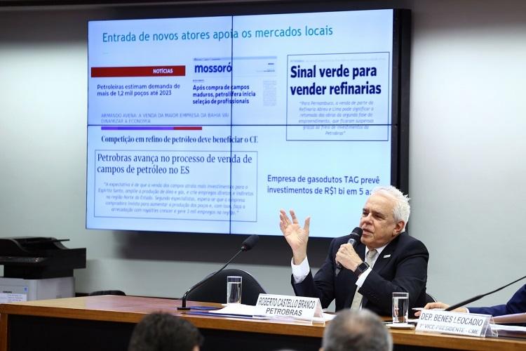 Presidente da Petrobrás diz que a culpa da saída da Petrobrás da Bahia é da mãe natureza