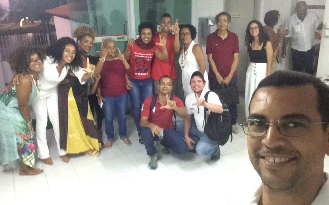 Oficina antirracista organizada pelo Coletivo EmpreteSer é realizada no Sindipetro