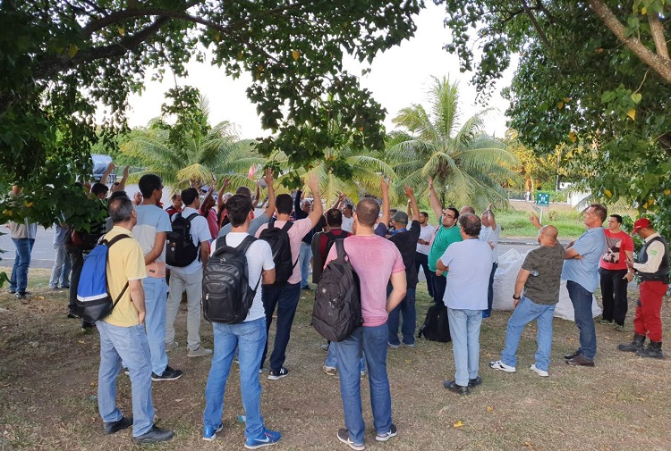 Bahia – Resultado parcial aponta que mais de 70% dos petroleiros aprovam greve pelos empregos e segurança