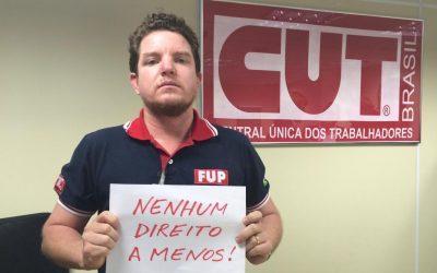 Leonardo Urpia expõe seus projetos para a CUT-BA