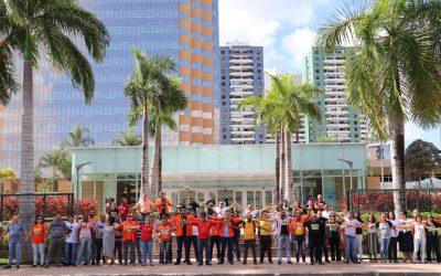 Um abraço pela permanência da Petrobrás na Bahia
