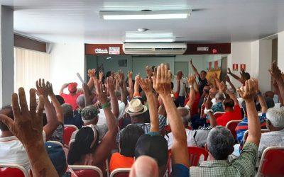 Categoria elege três representantes para a Comissão Eleitoral que irá organizar o processo das eleições sindicais