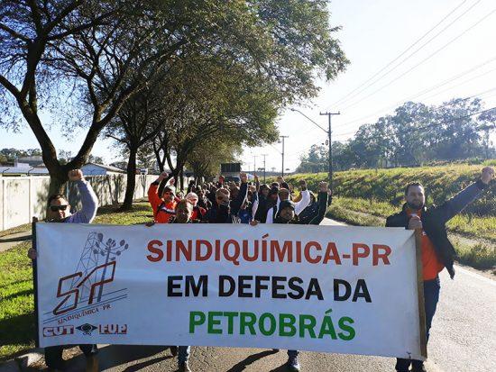Toda solidariedade aos trabalhadores da Fafen Paraná