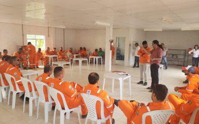 Trabalhadores do contrato de manutenção da Perbras paralisam hoje (21) as atividades no Campo de Araçás (BA)