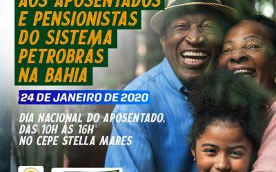 Sindipetro Bahia, Cepe e Astape promovem homenagem aos aposentados e pensionistas do Sistema Petrobras