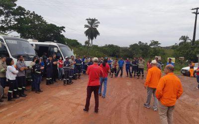 Sindipetro Bahia paralisa as atividades da PetroRecôncavo em São Roque