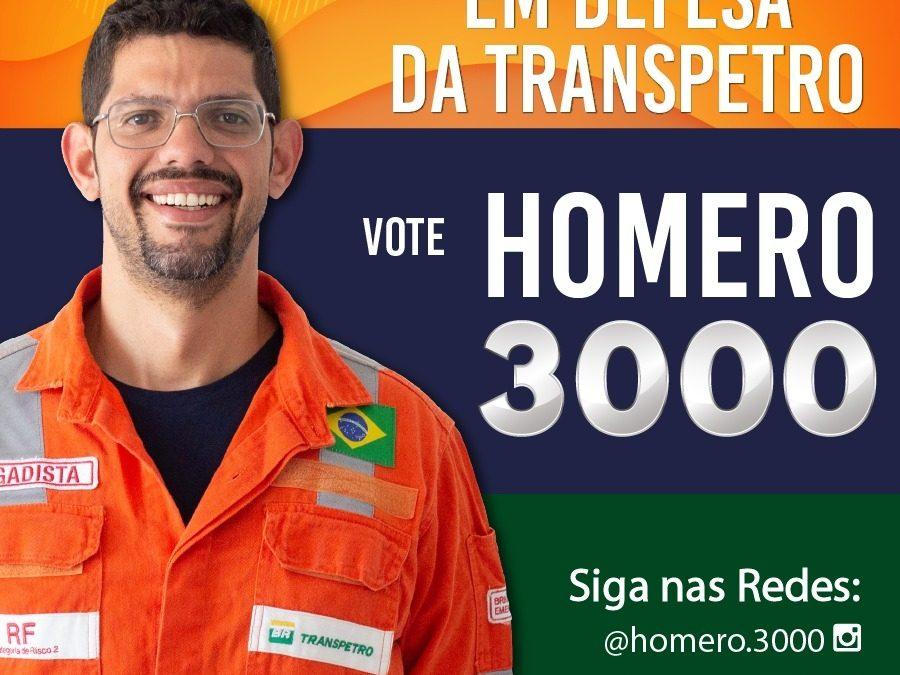 Sindipetro Bahia apoia a candidatura de Homero para o CA da Transpetro