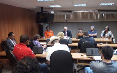 Em reunião com o Sindipetro Bahia na ALBA, parlamentares declaram apoio à greve dos petroleiros