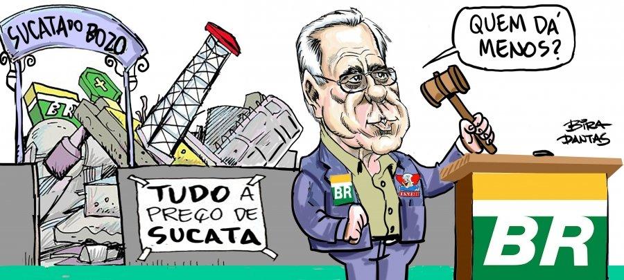 Sob o governo Bolsonaro, Petrobrás sofre o maior desmonte da história