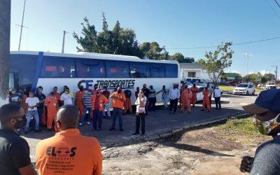 Sindipetro Bahia reafirma compromisso de defender direitos dos trabalhadores do Campo de Miranga